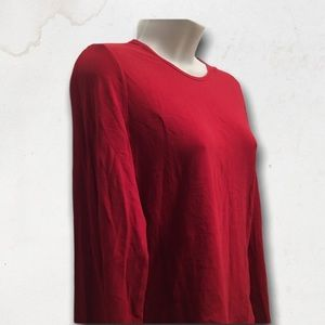 LAST CHANCE - GAP Red Long Sleeves Top